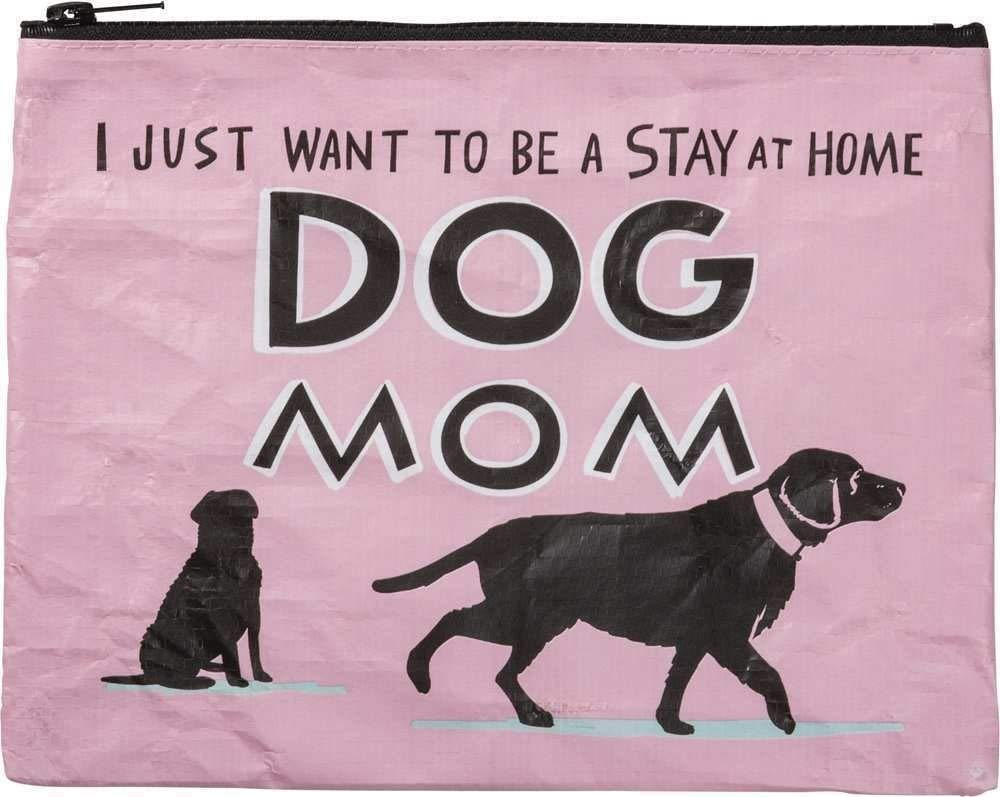 Primitives By Kathy Zipper Pouch - Stay At Home Dog Mom