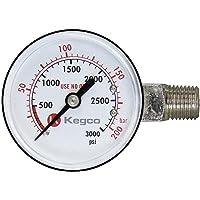 Kegco BF13R04 medidor de regulación, alta presión