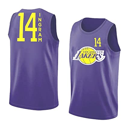 c31f7bfa95e09 Outerstuff Brandon Ingram Los Angeles Lakers #14 NBA Youth Performance  Player Tank Top (Youth