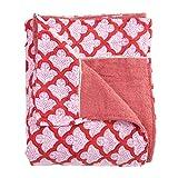 Roberta Roller Rabbit Jemina Beach Towel 90'' L x 45'' W Red