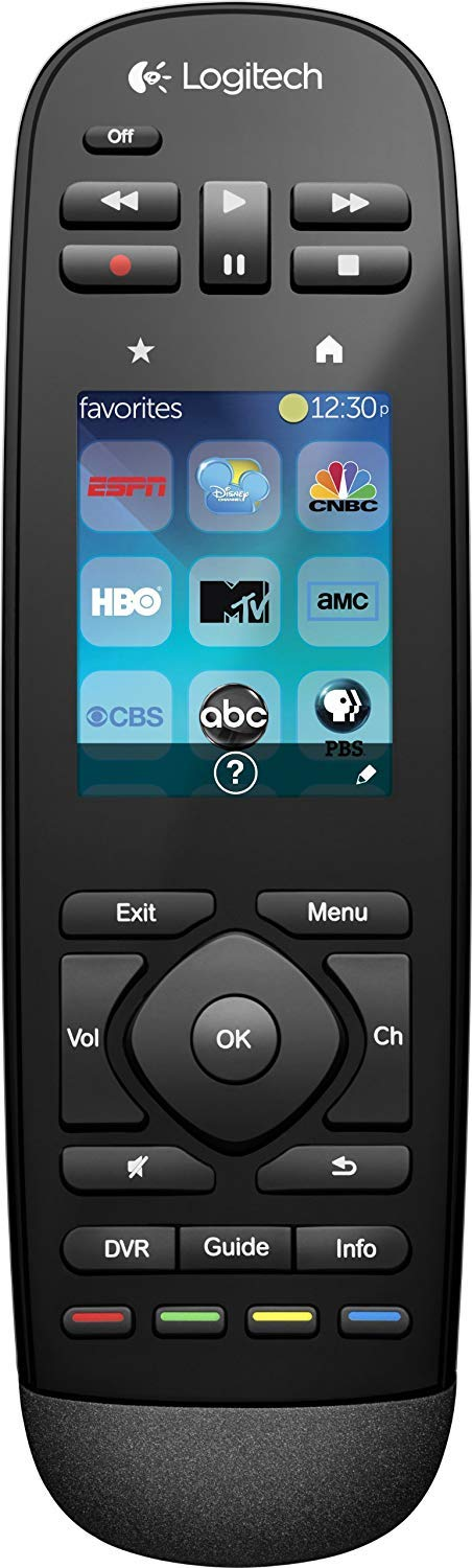 Logitech Harmony Touch Remote Control, (Renewed) (Harmony Touch) by Logitech