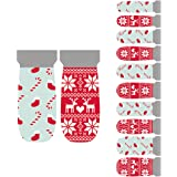 Winstonia 20pcs Nail Wrap Stickers Easy Manicure Nail Art Strips - Christmas Spirits