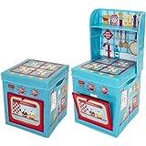 Pop It Up ままごと、自動車道収納ボックスおもちゃ箱(並行輸入品)(海外直送) (Kitchen)