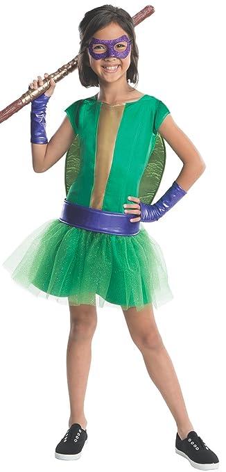 Amazon.com: TMNT – Deluxe Disfraz de Donatello de las niñas ...