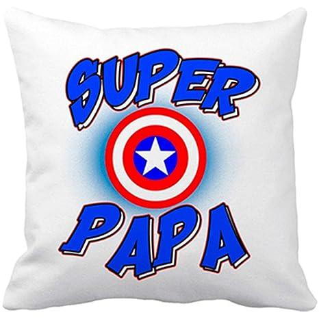 Diver Bebé Cojín con Relleno Súper Papá Capitán América ...
