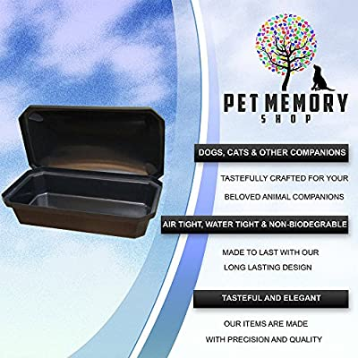 Economy Pet Casket - Choose Color - Burial Casket By Pet Memory Shop - America's #1 Pet Coffin for Dogs, Cats, and Other Animals ...