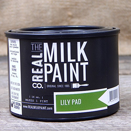 Paint Milk Green (44- Real Milk Paint - Lily Pad (pt.))