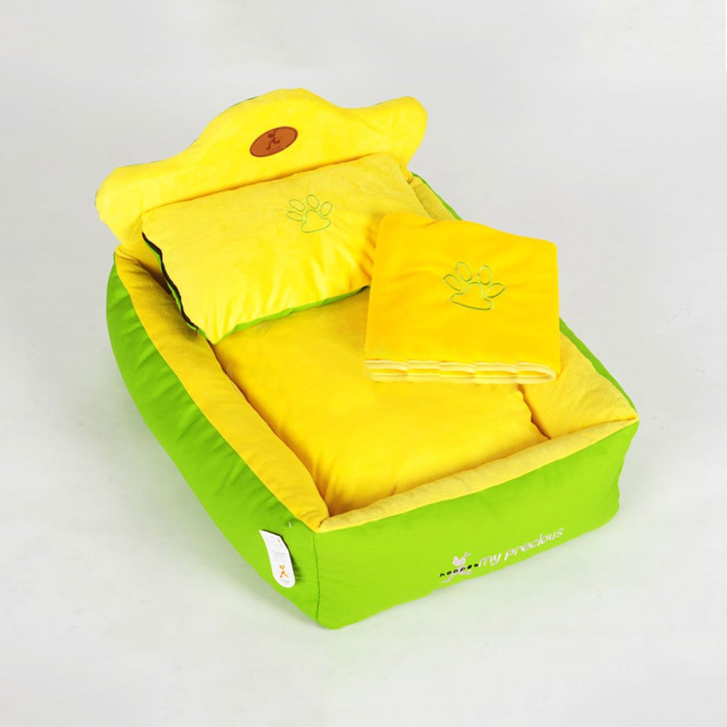 CS 3 Pieces Of Combination Pet Nest Pad Can Be Dismantled And Cleaned In A Pet House For Warm Pet Bed Pet Products In Winter