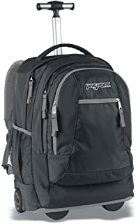 Amazon.com: Jansport Superbreak Wheeled Backpack (Black): Sports ...