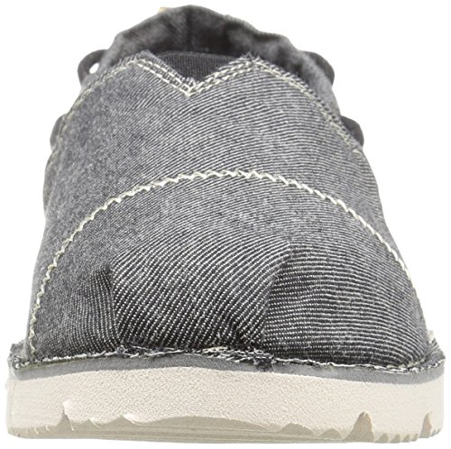 Skechers Bobs Womens Chill Luxe Flat Black Groove