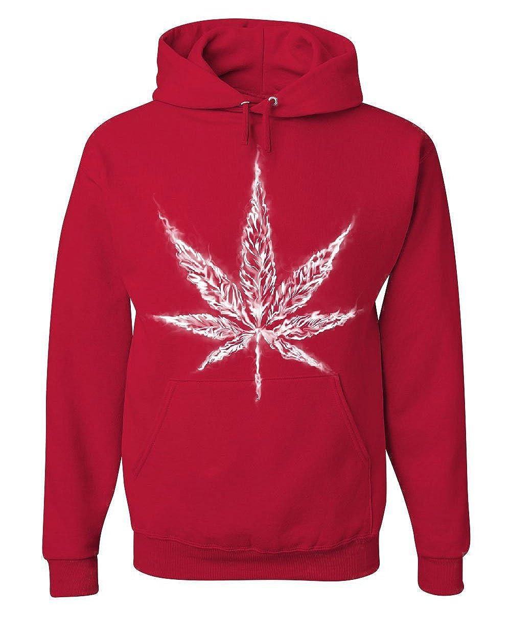 Smoking Pot Leaf Hoodie Smoking Weed 420 Marijuana Cannabis Sweatshirt 100157-S