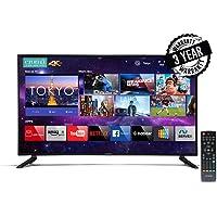 Croma 139.7 cm (55 inches) 4K Ultra HD Smart LED TV EL7338 (Black) (2019 Model)