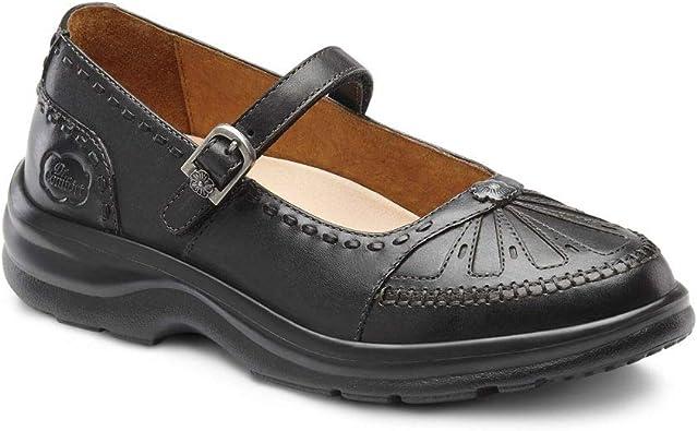Paradise Diabetic Mary Jane Shoes Black