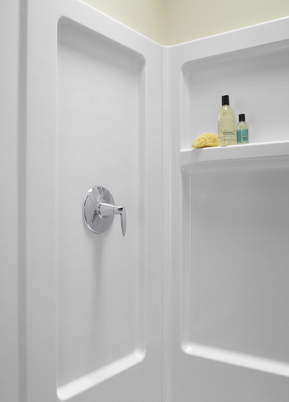 Sterling Plumbing 62010100-0 Advantage Shower Kit, 34-Inch x 32-Inch ...
