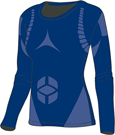 THE MOBILE SOCIETY Camiseta Deportiva Mujer Manga Larga Ropa Interior Técnica Transpirable Seamless Made in Italy: Amazon.es: Ropa y accesorios