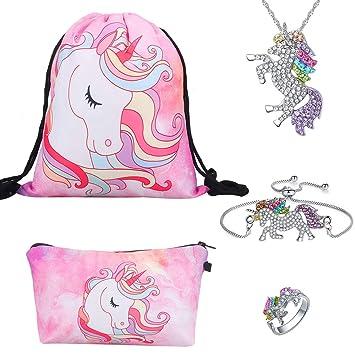 Unicornio Regalos para niñas 5 Pack - Unicornio Cordón ...