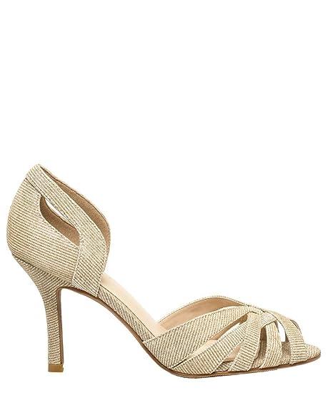9d993085fe58 LE CHÂTEAU Glitter Cutout D'Orsay Pump: Amazon.ca: Shoes & Handbags