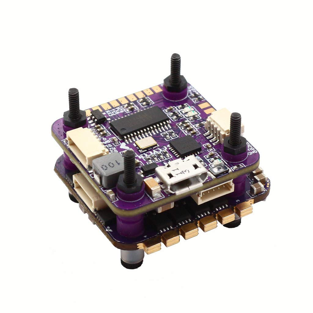 Benficial Flycolor Raptor S-Tower Flytower F4 Flight Controller Built-in OSD 20A 4IN1 ESC 2019 Summer Purple