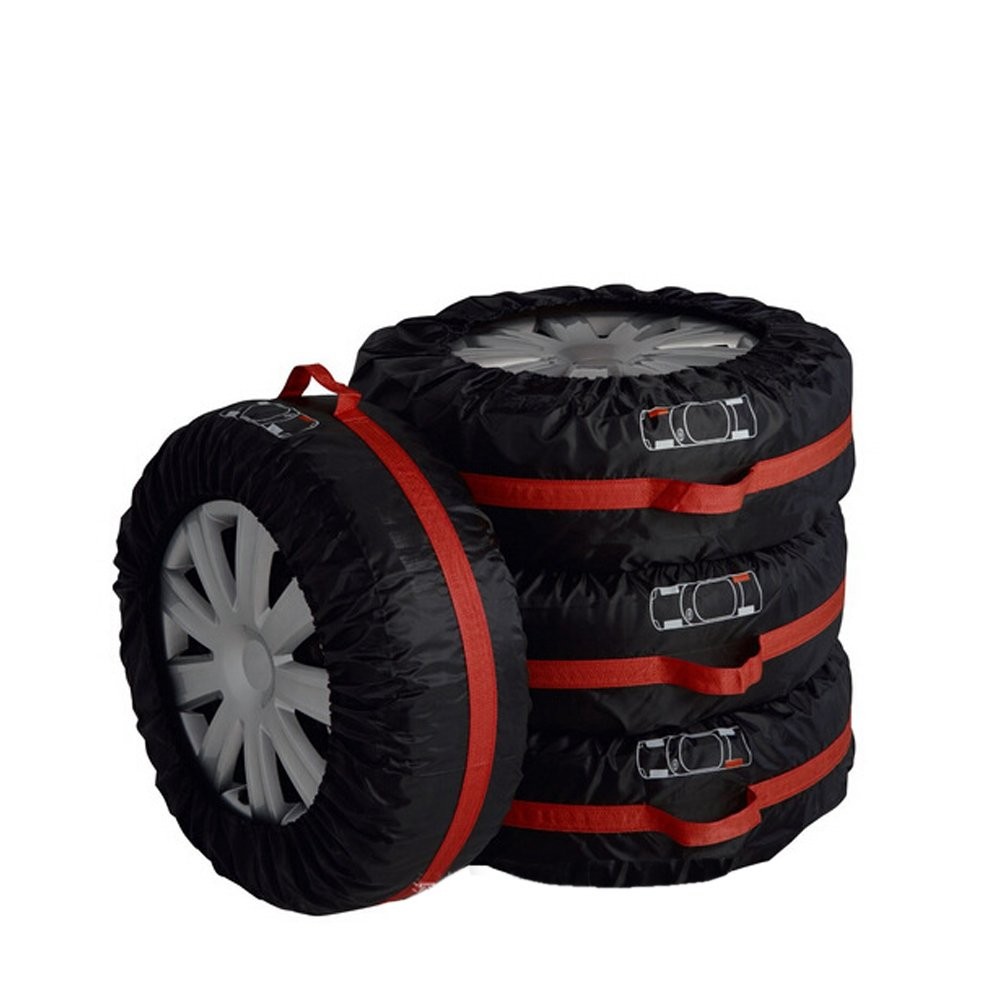 Funda para rueda de repuesto, de Tire Tote, portátil, plegable, para neumáticos de coche, todoterreno, camión dede 66 cm o 80 cm de diámetro, ...