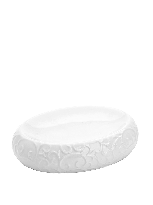 FERIDRAS Glam Portasapone, Bianco, 3.5x14x10 cm Brand 720003 FRDR-720003_Bianco