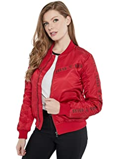 GUESS Factory Womens Belle Anorak Jacket at Amazon Womens ...