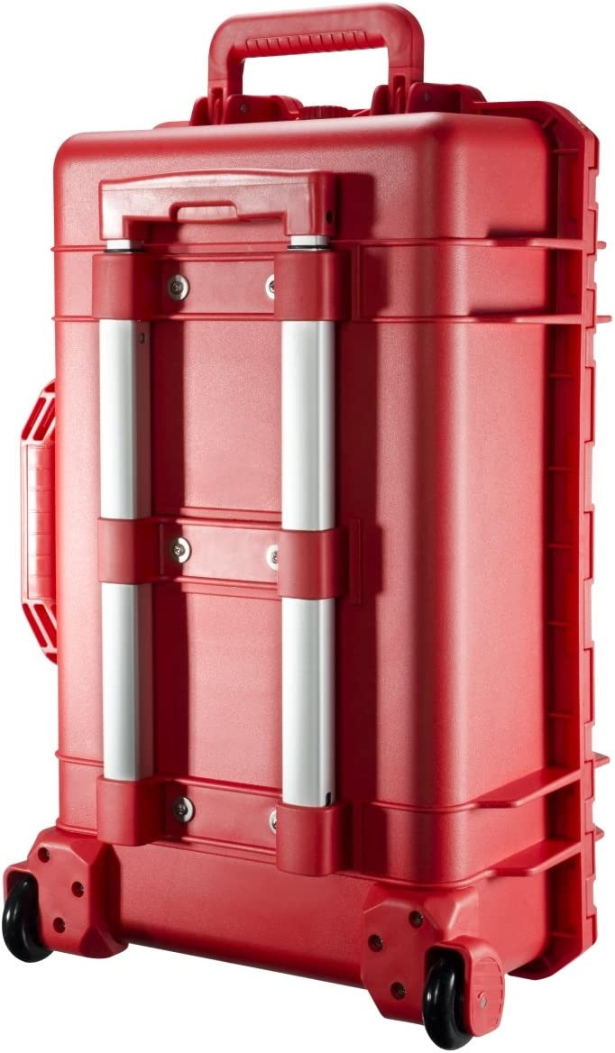 Mantona Outdoor Protective Hard Case for Camera Red