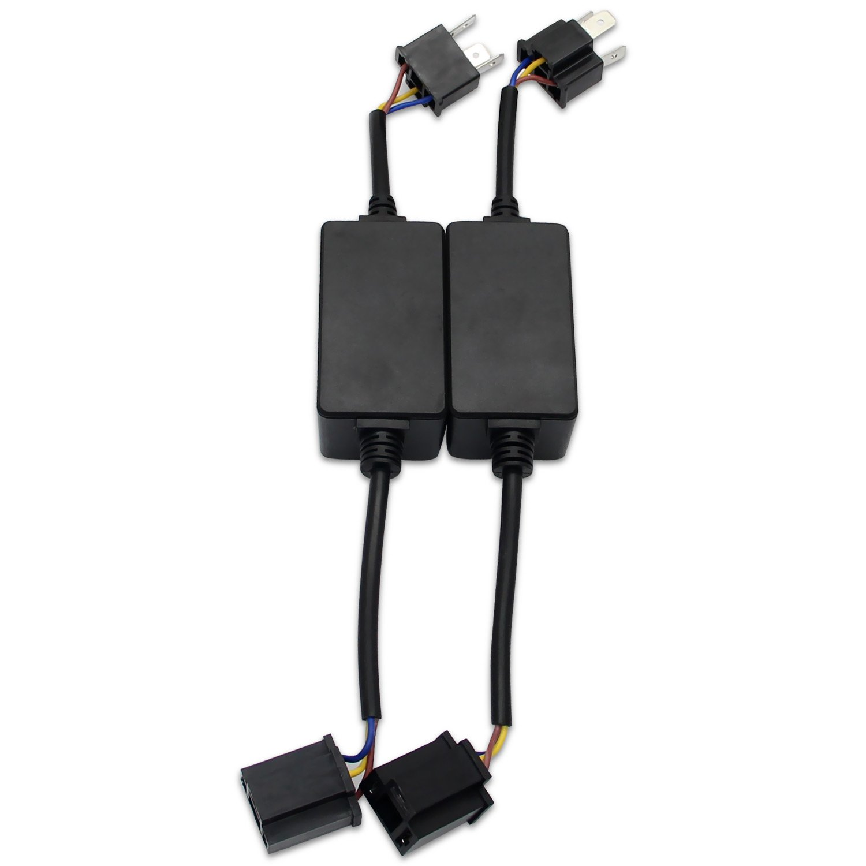 GH13 RCP HID LED Decoder Anti-Flicker Error Canceller Relay EMC Headlight Kit CANBUS Resistor Adapter /¡/