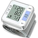 Wrist Blood Pressure Monitor Vlllik Blood Pressure Monitor Wrist Cuff can detect Irregular Heartbeat, Large Display and 2x99