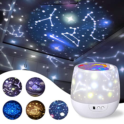 Amazon.com: misognare Star Night Light Universe - Proyector ...
