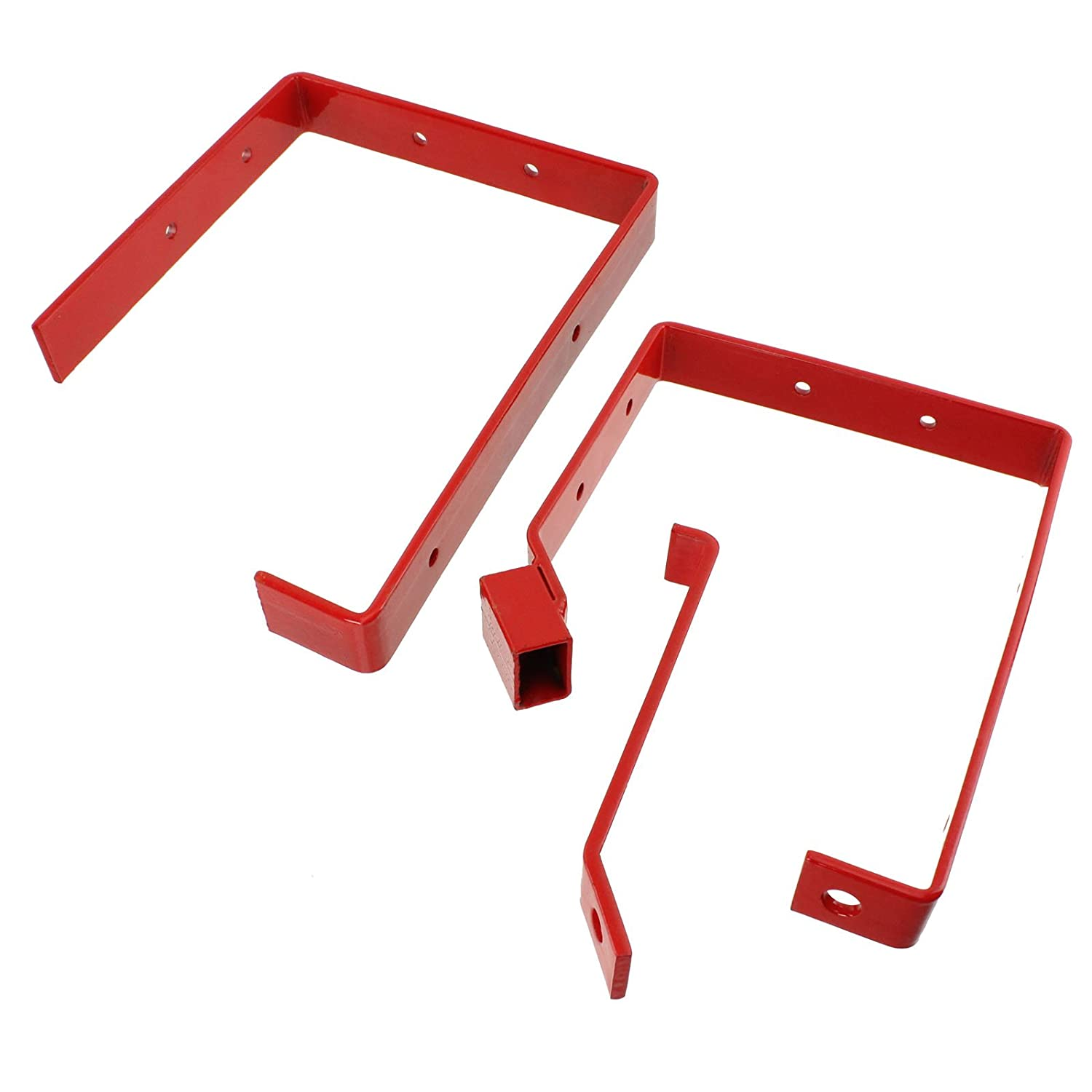 2 Pairs SPARES2GO Universal Wall Ladder Rack Brackets