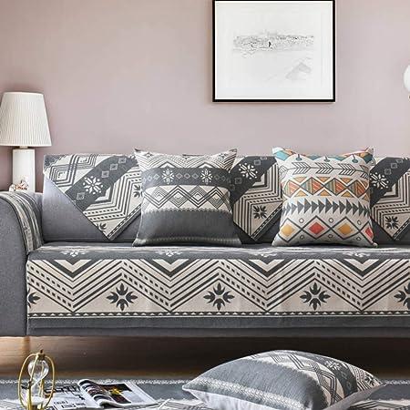 Ritaba Algodón Lino Seccional Sofá Funda Cubre sofá, Punto Sofá No enganches Cubiertas de sofá Sofá Funda Protector para sofás Vendido en Pieza Gran-A 90x120cm(35x47inch): Amazon.es: Hogar