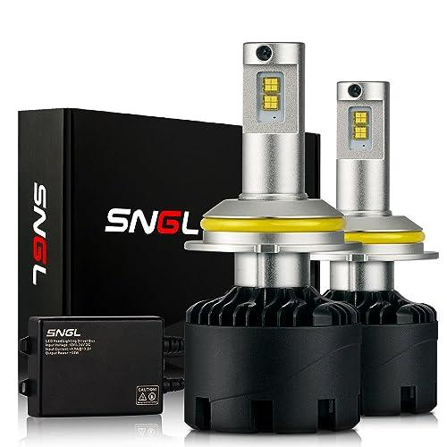 <br /> SNGL Super Bright LED Headlight Conversion Kit - Adjustable-Beam Bulbs