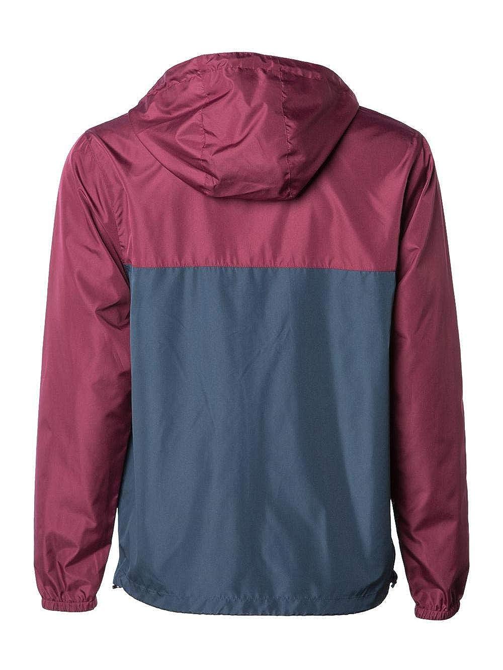 Independent Trading Co............. EXP54LWZ Light Weight Windbreaker Zip Jacket