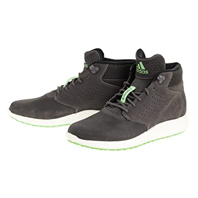 dd1b6d7f1e3 ADIDAS D ROSE LAKESHORE BOOST HI Mens Grey Green Trainers Shoes C77493 (UK  7   EUR 40 2 3   US 7.5)  Amazon.co.uk  Shoes   Bags