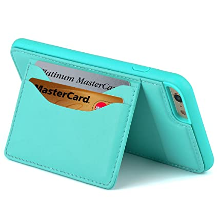 Amazon.com: Funda tipo cartera para iPhone 6 Plus, iPhone 6 ...