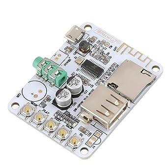 Tarjeta de Receptor de Audio Bluetooth Inalámbrico Módulo de ...