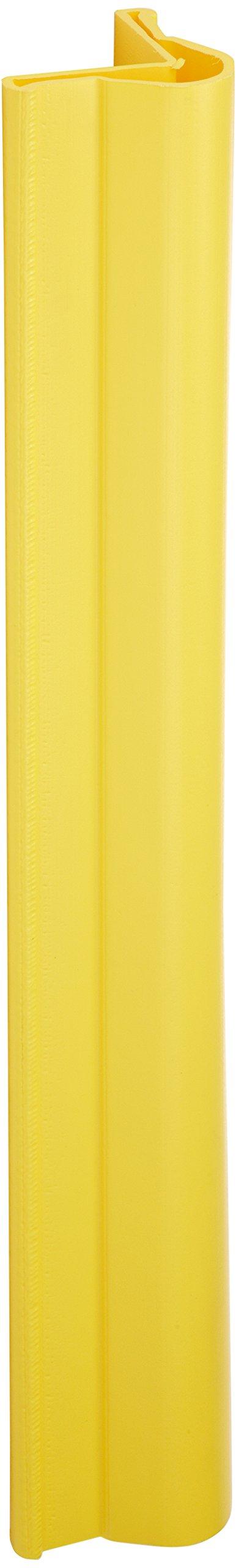 UltraTech 1523 Polyethylene Ultra-Corner Protector, 5-3/4'' Length x 5-5/8'' Width x 42'' Height, Yellow