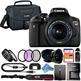 Canon EOS Rebel T6i 24.2MP Digital SLR Camera Retail Packaging Accessory Bundle (18-55mm IS STM)