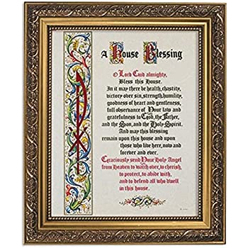 amazon com gerffert collection a house blessing primm framed