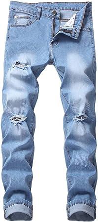 Routinfly Pantalones Vaqueros Para Hombre Pantalones Stretch Moda Pies Pequenos Jeans Talla Grande 2020 Nuevos Vaqueros De Hombre Elasticos Moda Tobillo Cremallera Skinny Jeans Para Hombres Amazon Es Ropa Y Accesorios
