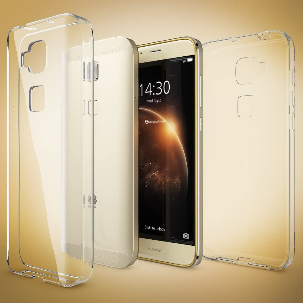 NALIA Funda Carcasa Compatible con Huawei G8 GX8, Protectora Movil ...