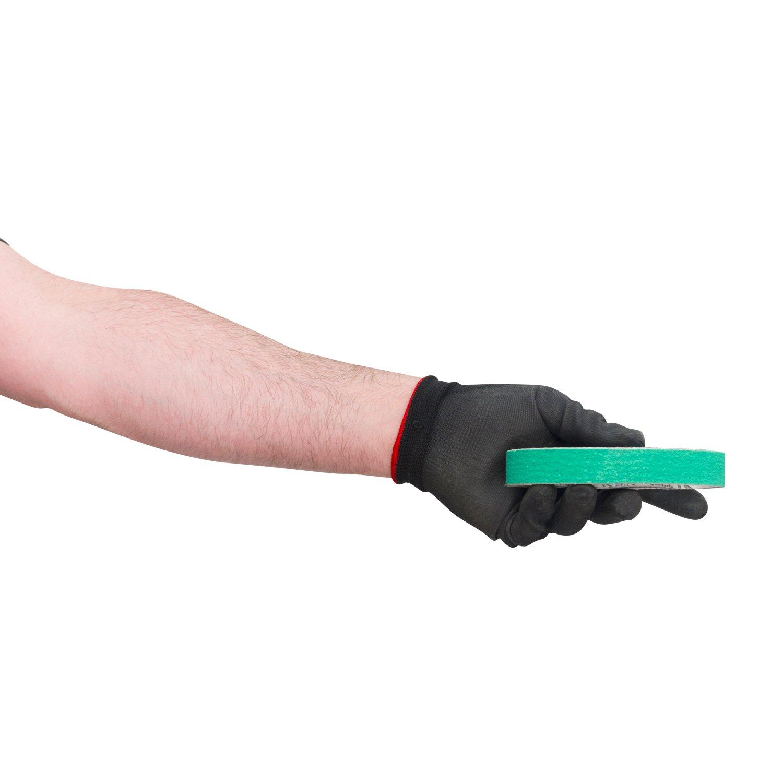 3/4 X 12 Inch Coarse P80 Grit Knife Sharpener Sanding Belts, 10 Pack (Compatible with Work Sharp Ken Onion) by Red Label Abrasives (Image #2)