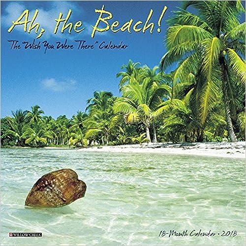Ah the Beach! 2018 Mini Wall Calendar