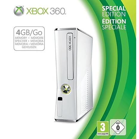 Xbox 360 4 Gb White Limited Edition Amazon De Games
