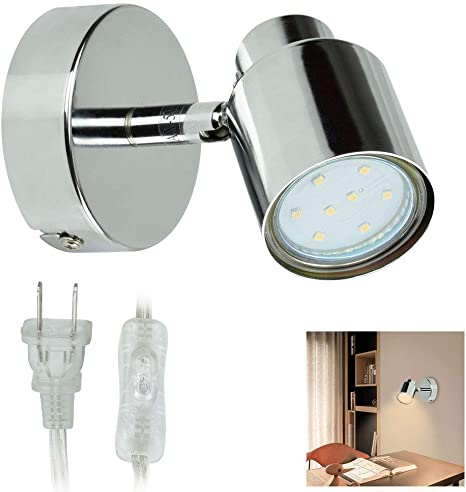 Designer Spotlight Modern Single Spot Light Retro Eyeball Sconce Wall Lighting