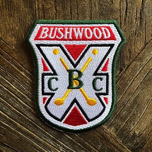 Bushwood Country Club Caddyshack Morale Patch - Hook Backed with Loop Attachment Piece That Can Be Sewn On by NEO Tactical