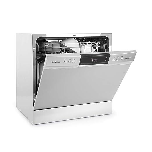 Klarstein Amazonia - Lavavajillas, Máquina lavaplatos, 8 programas ...