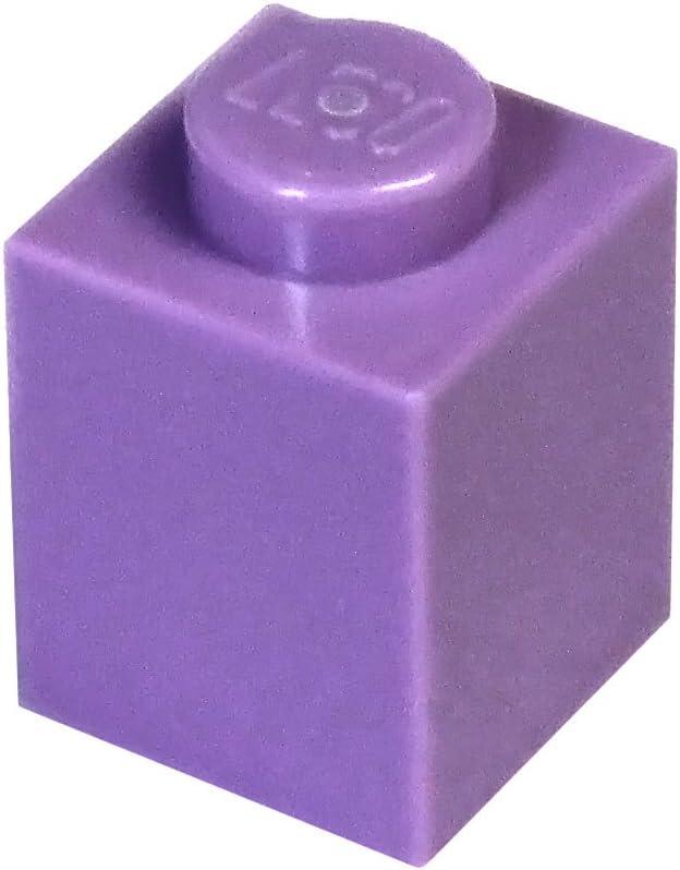 LEGO Parts and Pieces: Medium Lavender (Dark Pinkish Purple) 1x1 Brick x50