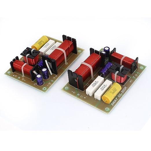 9 opinioni per 180W Crossover Filtri Divisore Di Frequenza 2 Pezzi