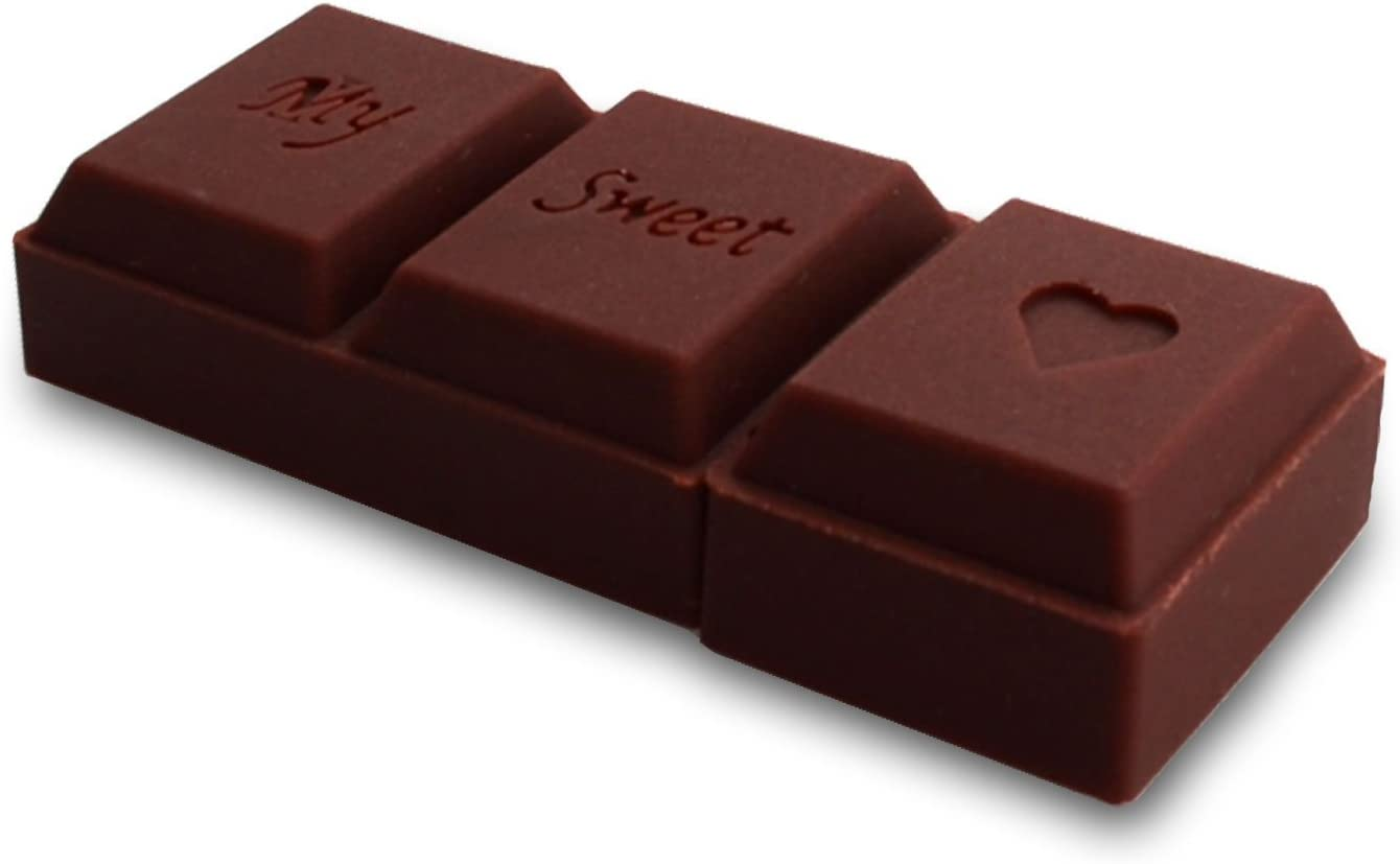818-Shop No11800070016 - Memoria USB 2.0 de 16 GB, diseño Chocolate